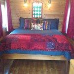 Luxury Gypsy Wagon - interior shot