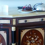 Furniture details and special touches.