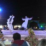 Arabic dance performance