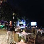 Buffet sur la plage
