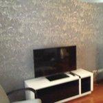 Living room Flat tv + docking station