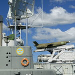 Utforska jagaren Småland och ubåten Nordkaparen