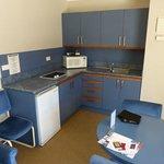 Kitchen in room 20
