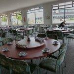 Empty dining room, very pleasant