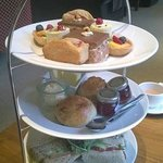 Afternoon tea at the Clocktower restaurant