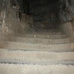 Dark passages inside the fort