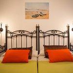 Habitación doble, dos camas