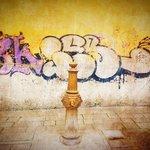 Old vs New - Graffiti and water pump
