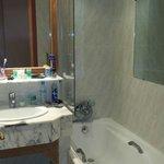 Salle de bain vétuste