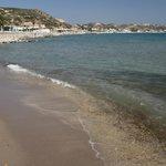 la spiaggia vicina