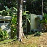 les bungalows en béton ciré