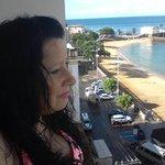 un lujo tener la mejor vista de praia da barra