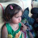 Ivana Enjoying Pizza at Paji Arambol