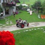 un giro sul vecchio trattore