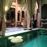 Riad Dar Anika courtyard