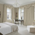 Premier Suite bedroom in Neo-Classical building