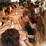 Origami workshop at CAMP!