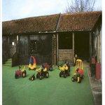Tractor courtyard