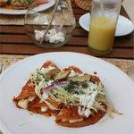 Breakfast at Las Rocas