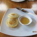 Breakfast - pancake dish