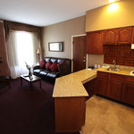 Executive Suite, Kitchen and Living