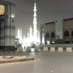 View of Masjid from outside hotel