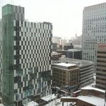 View of Sapporo from our hotel room