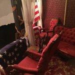 Lincoln's theatre box