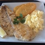 dynamic breakfast, most outstanding delicious fish fillet