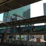 Hotel from Surasak BTS station