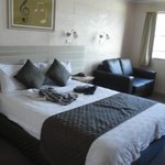 Dejligt værelse, med microoven og elkedel