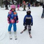 We love skiing!