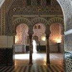 Mudejar architecture and design in the Real Alcazar.
