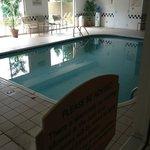 Pool looking in from doorway