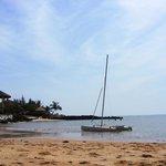 spiaggia laterale