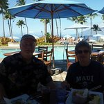 Lunch at the KuMu Bar & Grill