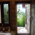 Loved the private outdoor shower.