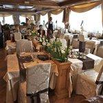 sala da colazione.... bellissima!