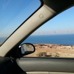 The way to Aqaba through Dead Sea Road