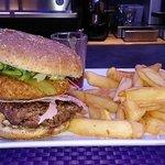 Méga raclette burger