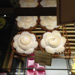 The exquisite Lemon Meringue Tarts at Paul