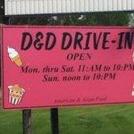 D&D Drive in