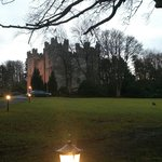 Langley Castle from the ground