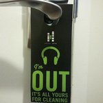 Clever Do Not Disturb Sign (reversible)