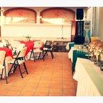 Planeamos su evento social en nuestra área del jardín y de la alberca
