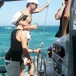 Catamaran Blue magic cat, nuevos clientes, nuevos capitanes