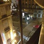 вид на Сен-Мишель из окна