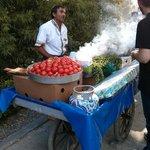 Protesting meatballs of Gezi Park