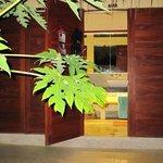 Badezimmer im Bungalow