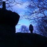 Top of druids rocks